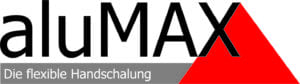 "Logo ""Alumax - Die flexible Handschalung"""